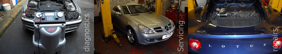 Diagnostics | Servicing | Repairs |  MOT's